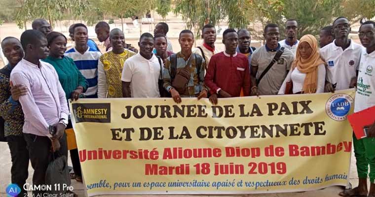 Amnesty s'ouvre les portes des universités sénégalaises