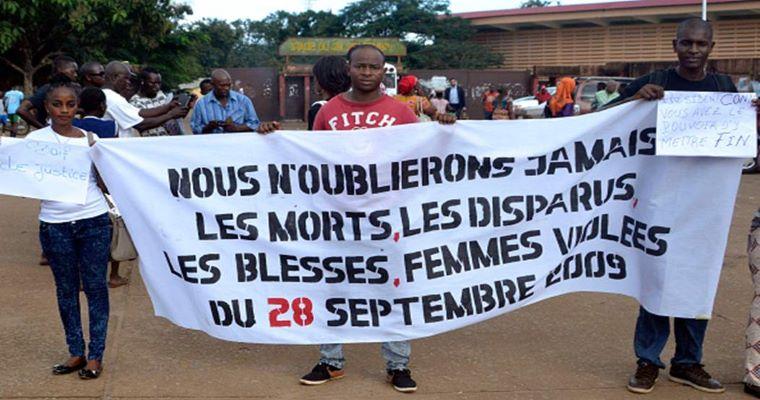 Guinée : Dix ans après le massacre du stade, pas de justice