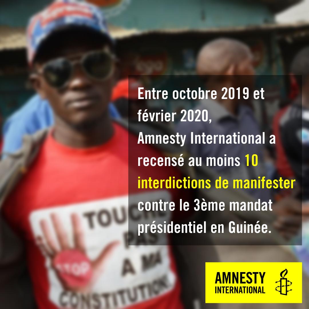 Guinée. Des manifestants tuées en toute impunité en moins d'un an