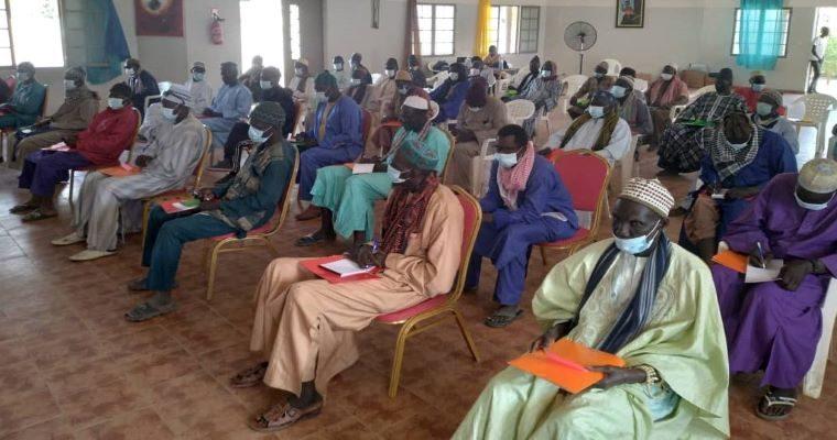 chefs de village formés à l'état civil